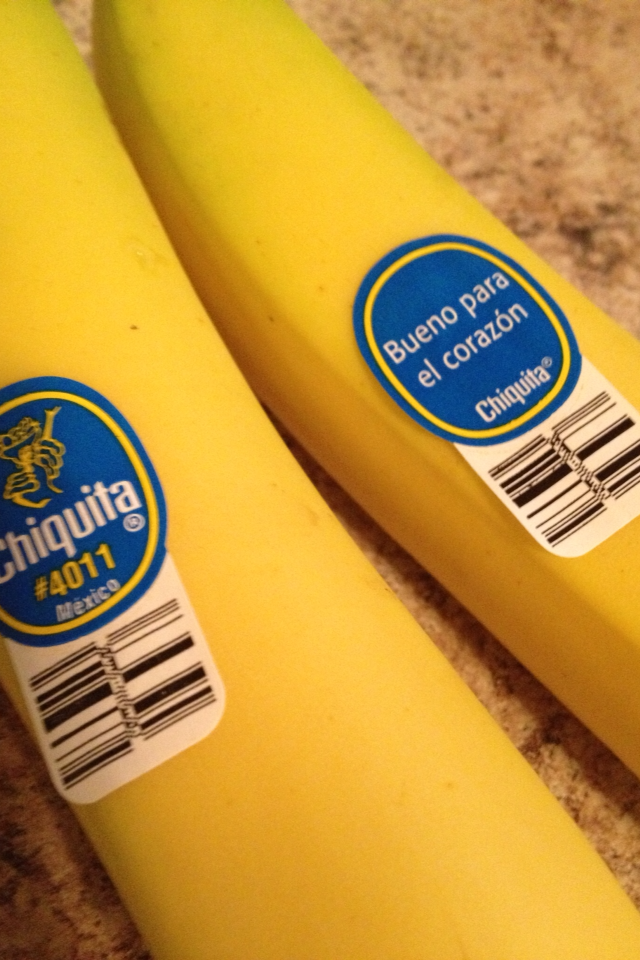 Chiquita - making our jobs a little easier!