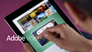Adobe -Voice World language class applications