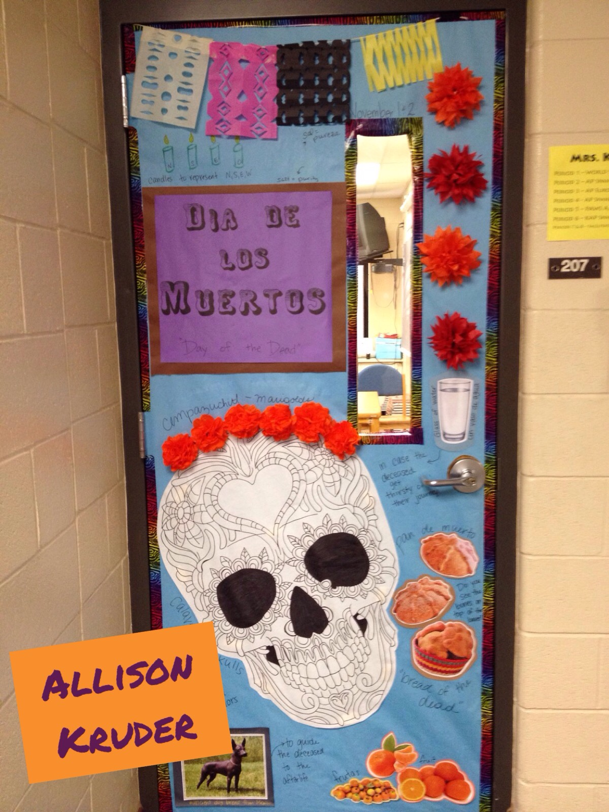 Foreign Language Classroom Decoration Ideas ~ Top most exciting doors creative language class